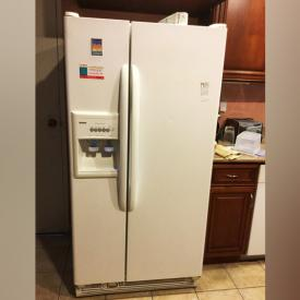 MaxSold Auction: This auction features a Trade Show Booth, Kenmore Two Door Refrigerator, Washer and Dryer, Sharp Microwave,Tassimo , Tansu Chest, Lamps, Area Rugs, Dishes and Kitchen Small Appliances, Four POsted Bed, Dressers and much more!