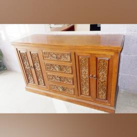 MaxSold Auction: This online auction features furniture such as sideboard, vintage cabinet, bench, wood table and wood corner chair. It also features artwork, collectibles, decor, toys and much more!