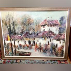 MaxSold Auction: This online auction features a large collection of Sam Blaug Original Artworks, Vinyl Records, Fur Coats, Jewelry, Wade Red Rose Tea Figurines, Belleek Fine Porcelain, Pyrex, Crystal Glasses, Vintage Electric Train Set and much more!