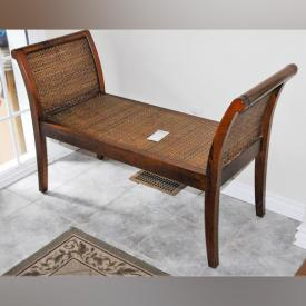 MaxSold Auction: This online auction features furniture such as Pine Tables, Pine Cupboard, Demi Lune Table and Mirror, Gibbard Dining Chairs, Gibbard Dining table, Gibbard Buffet, Oak Veneer Cabinet, Wicker Bench, Coffee and End Table, Portable Island and much more!