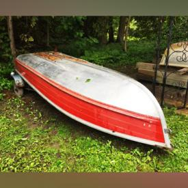 MaxSold Auction: This online auction features jewelry, aluminum boat, italian serving ware, collectibles, decor, artwork, watches, furniture and much more!