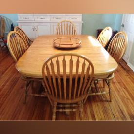 MaxSold Auction: This online auction features Dressing Screens, Deco Style Vanity, Wood Desk, Indoor Air Conditioner. Braided Rugs, Oak Dining Set, Vermillion Electric Fireplace, Handcrafted twig Chairs and much more!