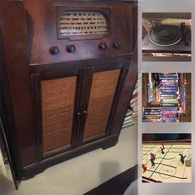 MaxSold Auction: This online auction features Antique phonograph; Akai and Kenwood record players; DJ equipment; Small appliances and much more!