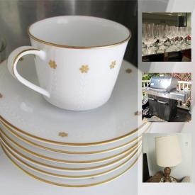 MaxSold Auction: This online auction features kitchenware, deep fryer, faux and real pants, roomba, grills, office supplies, printers, lamps, record player, cameras, speakers, coffee makers, vacuums, sports equipment, luggage, holiday decor, sewing machines, wall art, yard tools, and much more!