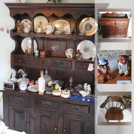 MaxSold Auction: This online auction features brass BELLS and decor, craft supplies and yarn, TOOLS and tool chest, air compressor, belt sander and much more!