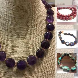 MaxSold Auction: This online auction features high quality finished gemstone jewelry, loose gemstones, findings and pearls!