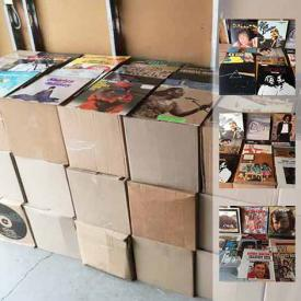 MaxSold Auction: This online auction features approximately 3000 record albums of various genres!