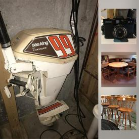 MaxSold Auction: This online auction features Boat Motor, Miami Sun Trike, Glassware, Deli Slicers, Musical Instruments, Anders Nicholson Phonograph, Hurry Gurdy, Sewing Machine and Accessories, Office Supplies and much more!
