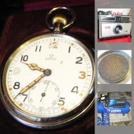 MaxSold Auction: This online auction features collectibles, decor, silver plate, tools, jewelry, sports equipment, electronics, china, kitchenware, clothes, furniture and much more!