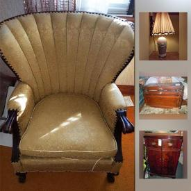 MaxSold Auction: This online auction features VINTAGE: Tappan gas range and Oriole gas range; Federal Airtight wood burning furnace; Griffiths chairs; fan back upholstered chairs; vanity and stool; lamps; women's coats and gowns; tool chest; Schwinn Twin tandem bike; olive green Frigidaire refrigerator. COLLECTIBLE: Steins; milk glass vases; vintage stamps/coins; dresser set; die cast cars. CHINA: Mushroom embossed white everyday dish set. APPLIANCES. SHOP POWER TOOLS: Table saw, drill press, belt sander; hand tools. Yard and Garden and much more!