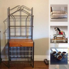 MaxSold Auction: This online auction features Easter supplies, electric fireplace, rocking horse, light fixtures, outdoor lights, rugs, walkers, children's toys, cabinets, recliner, industrial lights and much more.