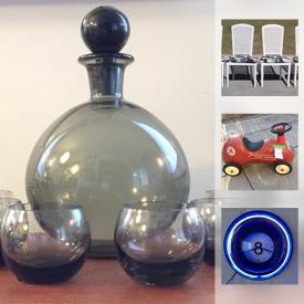 MaxSold Auction: This online auction features LOTS OF VINTAGE and MODERN furniture, artwork, decor and much more!