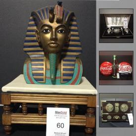 MaxSold Auction: This auction features Many collections of Antique Cabinet Cards, Obsolete Patches, Medals, Military Collectibles, Vintage Toys , Silver Spoons, Felt Pennants, Pez Dispensers , Stamps, Coins, World Currency. 14K Gold Jewelery and much more.